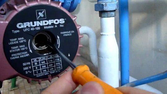 Comment installer un circulateur eau chaude?